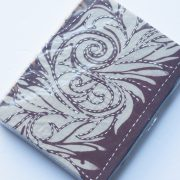 Sari Book - Brown back