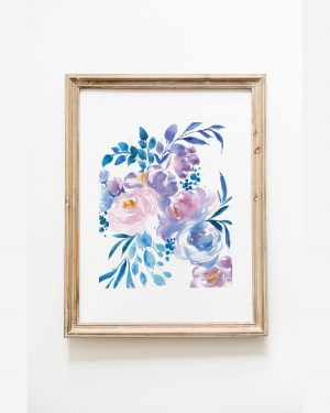 Blue-Purple-Flowers-8x10