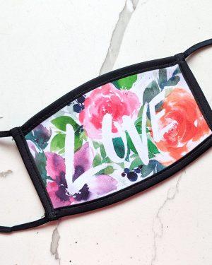 Watercolour Love Masks